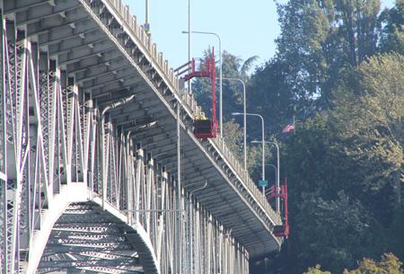 Aurora Bridge illo