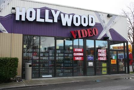 Store Closing Sale At Hollywood Video My Ballard