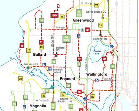 Proposed Metro cuts will hit routes in Ballard
