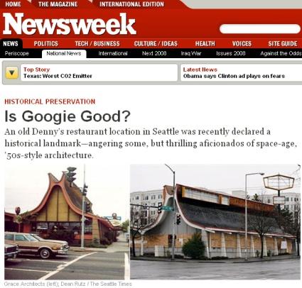 Denny's story in Newsweek com