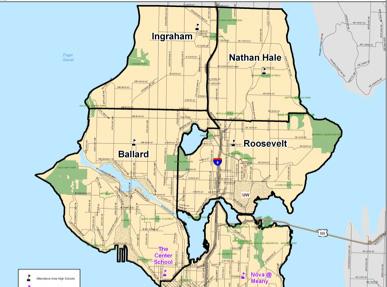 Fremont Universestudent boundary map