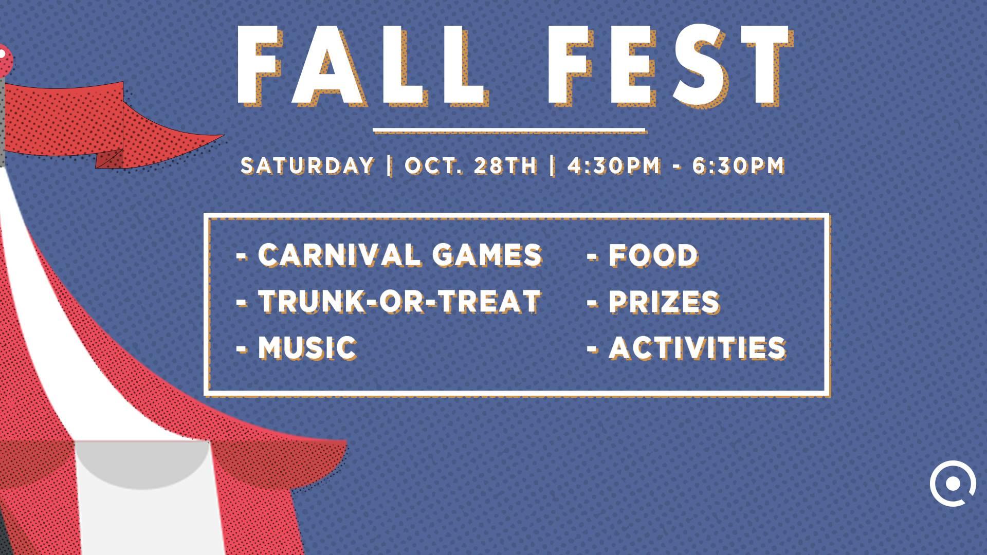 Fall Festival This Weekend At Quest Church My Ballard