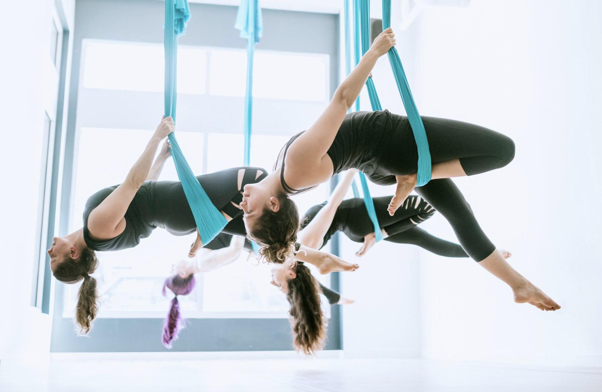 Aerial yoga studio Flight Room coming to Ballard - My Ballard