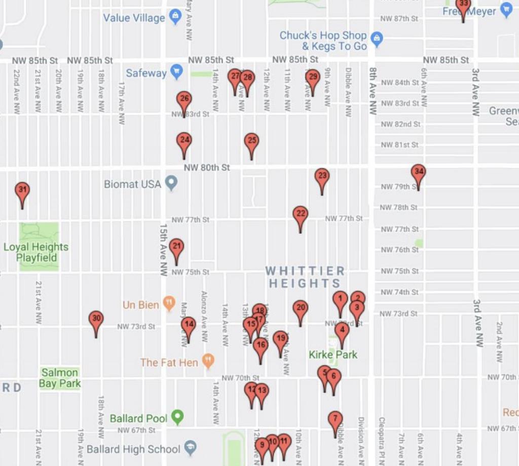 Neighborhood-wide garage sales this Saturday